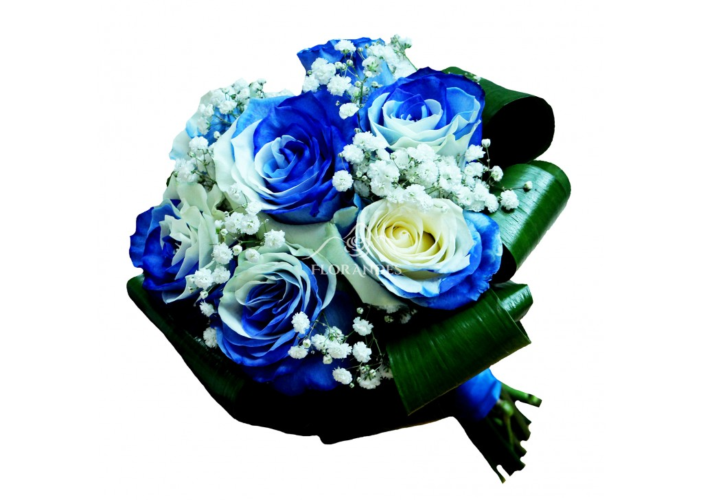 Buchet De Mireasa Cu Trandafiri Bicolori Prospetime Si Calitate
