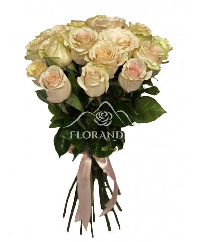 Buchet de 23 trandafiri roz