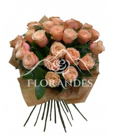 Buchet 25 trandafiri Kahala