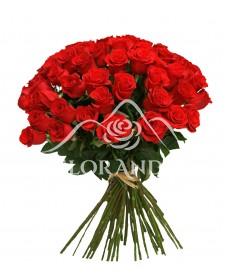 Buchet 47 trandafiri rosii
