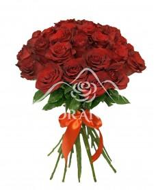 Buchet de 23 trandafiri rosii