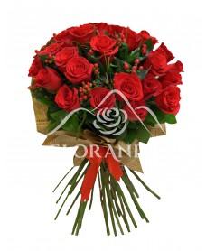 Buchet de 31 trandafiri rosii