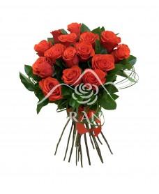 Buchet trandafiri rosii Nina