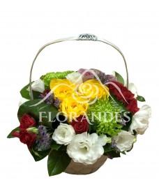 Cos de trandafiri