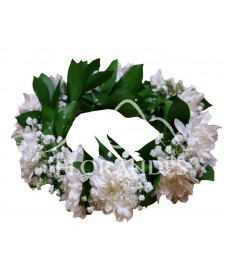 Coronita din crizantema