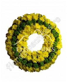 Coroana din crizantema