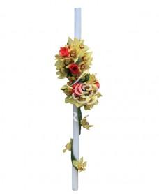 Lumanari de nunta din orhidee cymbidium
