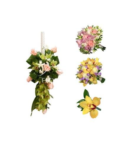 Pachet floral nunta