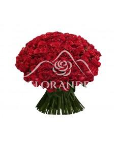 Buchet din 101 trandafiri rosii