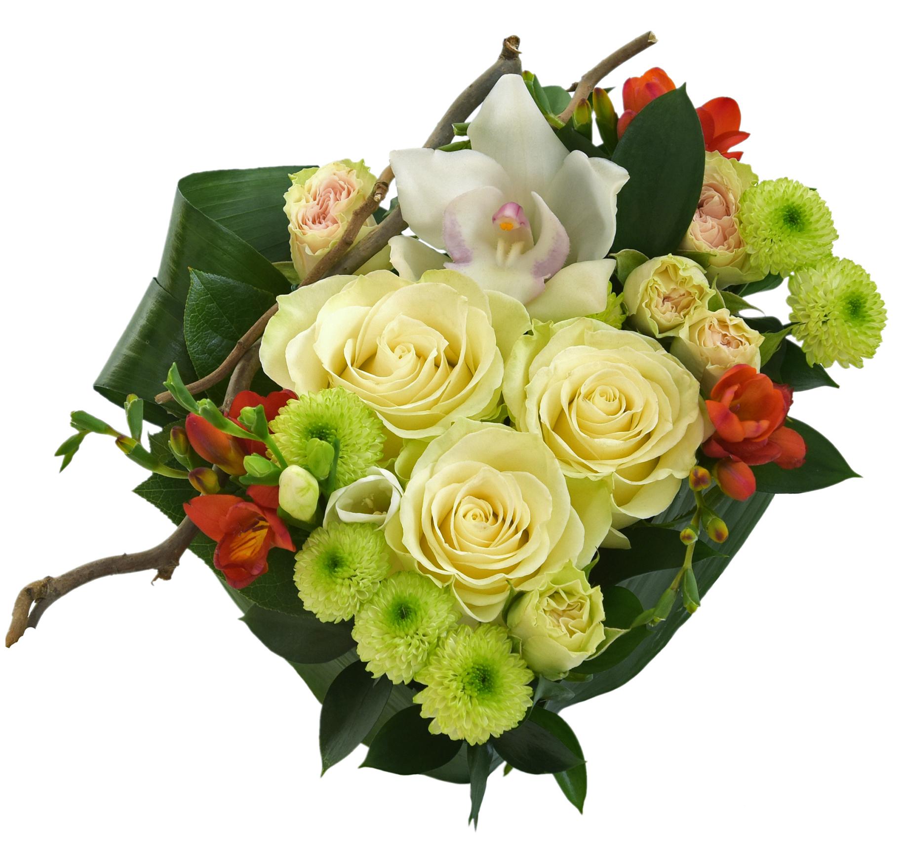 Comanda online aranjamente florale in forma de inima