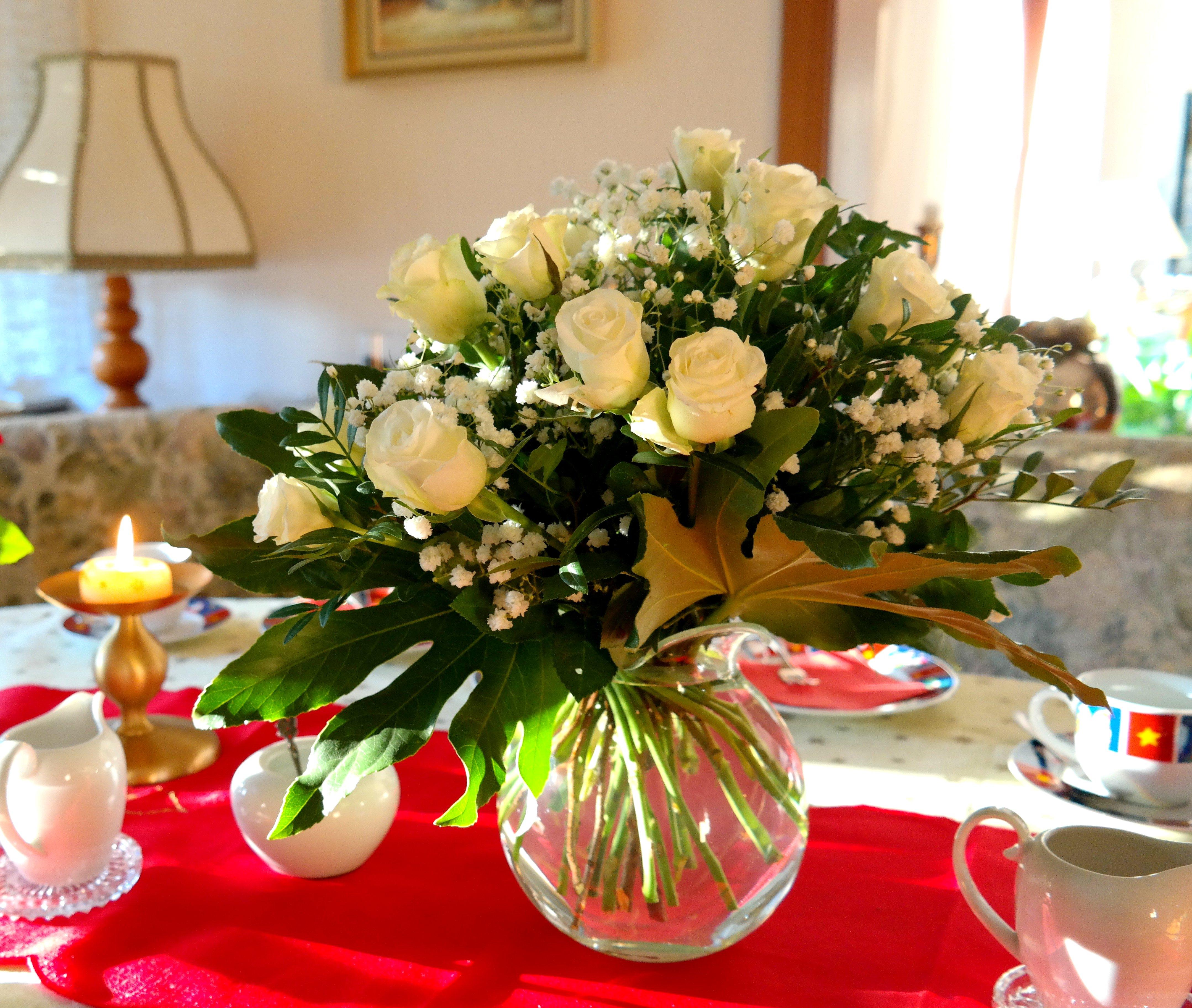 Buchetele de flori dau o stare de bine