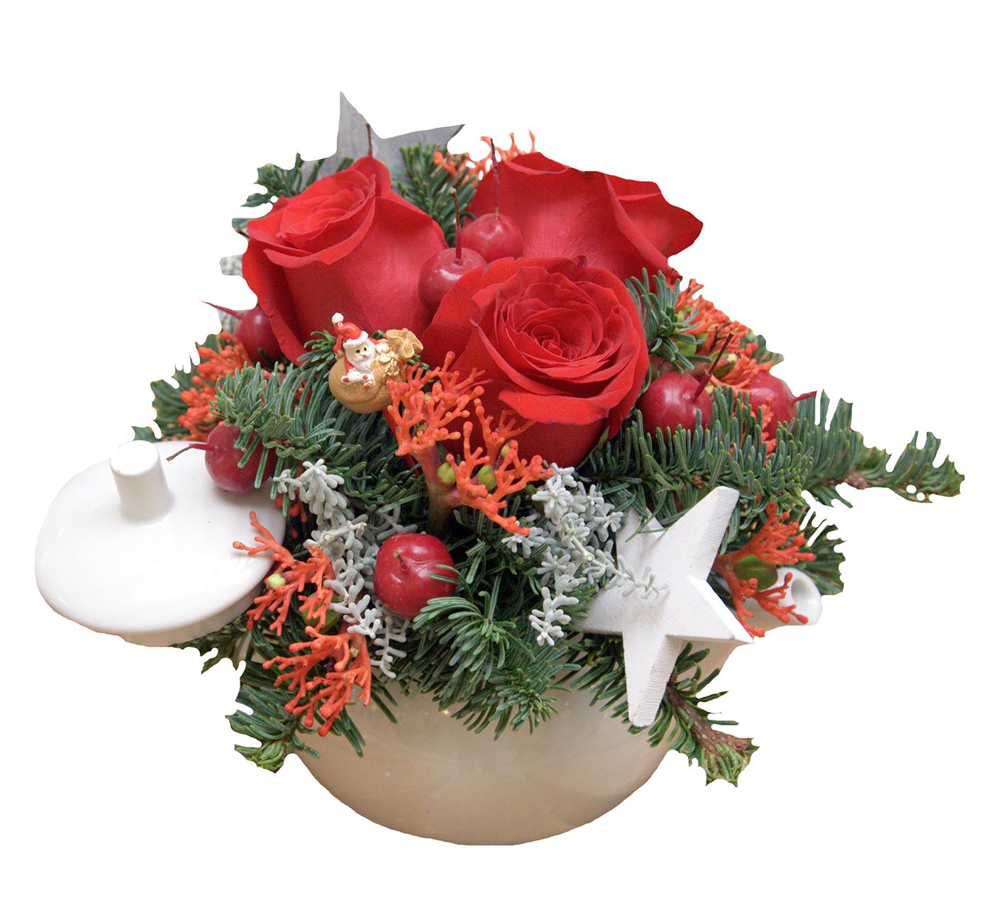 Aranjamente florale de Craciun