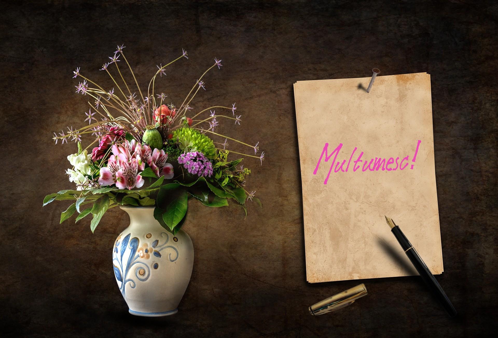 """Spune """"Multumesc"""" cu ajutorul unei comenzi de flori online!"""